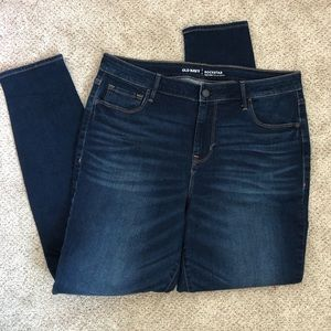 Old Navy High-Rise Rockstar Jeans
